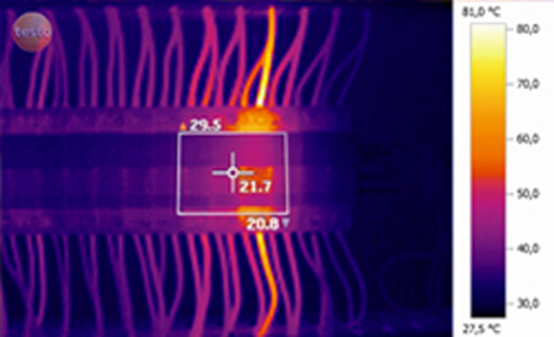 Thermographie infrarouge application électrique