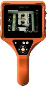 Thermal camera with contour detection